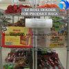 Verpackenfrucht-Gemüse-Mais-Plastikverpacken- der Lebensmittelbeutel auf Rolle