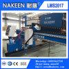 Maquinaria da estaca do plasma da placa de aço do pórtico do CNC