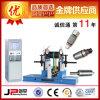 Máquina de equilibrio dinámica del mecanismo impulsor de correa para el rodillo y el carrete de los escombros