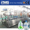 planta de embotellamiento líquida de agua 500-600bph para la botella del animal doméstico 5liters