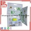 La bolsa de plástico de empaquetado del papel de aluminio del alimento cocido