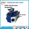 80W de draagbare Goedkope Machine van het Lassen van de Laser voor Juwelen