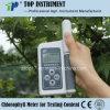 Medidor da clorofila para o índice do teste