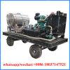 1500bar Uitrusting van de Was van de Hoge druk van de Oppervlakte van de Scheepswerf van de dieselmotor de Mariene Schoonmakende