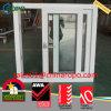 PVC 태풍 충격에 의하여 이중 유리로 끼워지는 슬라이더 Windows