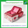 Вахты серьги диаманта кольца ювелирных изделий коробки подарка благосклонностей венчания коробка изготовленный на заказ упаковывая