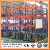 Estante resistente de acero del almacenaje del almacén en el amontonamiento de los estantes y de los estantes