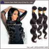 Trama dei capelli del tessuto dei capelli umani del Virgin dell'onda del corpo della Cina