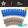 lado 882prr-Tab que dobla la cadena de la tapa de tabla del transportador del rulo de plástico