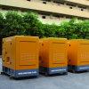 generador silencioso del gas natural 400kw/500kVA en centrales eléctricas movibles