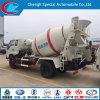 Carros del mezclador concreto del volumen 5cbm de Foton 4X2 para la venta