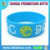 Fábrica personalizada impressa relativa à promoção do bracelete do silicone da bandeira de país