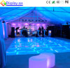 Tablilla de anuncios de LED del color LED Dance Floor del RGB para el banquete de boda