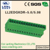 Ll2edgkdr- 5.0/5.08 Pluggable 끝 구획 연결관