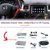 Schnittstellen-Multimedia GPS-Navigations-Kasten des Aufsteigen-Auto-HD androider für (10-16) VW 8  Touareg (SYSTEM RNS850)