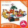 Les tours de parc d'attractions joyeux vont carrousel de rond à vendre