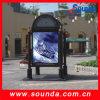 Nuevos productos de Sounda y bandera puesta a contraluz 440g al aire libre de la flexión