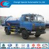 De Vrachtwagen van de Tanker van de Zuiging van de Riolering van Dongfeng 4X2