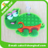Tag de borracha da bagagem do PVC do tipo conveniente da tartaruga (SLF-LT048)