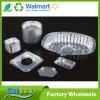 Envase del papel de aluminio del hogar con el cuadrado redondo y la dimensión de una variable oval