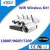 sistema de seguridad sin hilos del CCTV del hogar del kit video de la vigilancia de 4CH 1080P