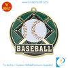 Fachmann kundenspezifische Qualitäts-Vergoldung-Baseball-Medaille mit weichem Decklack