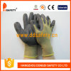 Желтоватый Nylon перчатка нитрила Sandy полиэфира (DNN452)