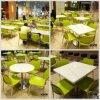 Tabelle moderne del ristorante degli alimenti a rapida preparazione della mobilia con quattro sedi