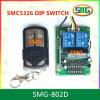 Récepteur à télécommande 330MHz 433.92MHz SMC-5326p-3 d'interrupteur à positions multiples sans fil de rf