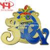 Персонализированные цинковый сплав Материал Медали / Пользовательский серебрение Знак