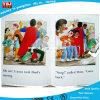 Pequeña tarjeta del libro de niños que juega el libro