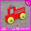 Mini veículo de madeira do carro bonito novo do brinquedo do bebê do estilo 2015, brinquedo pequeno de madeira do veículo das crianças, veículo de madeira W04A127 do brinquedo do jogo engraçado