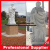 Die Evangelist-Marmorstatue-schnitzende Marmorsteinskulptur markieren