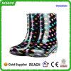 Ботинки дождя ботинок женщин длинние водоустойчивые