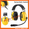Bruit Cancelling Racing Radios Headset pour Radio bidirectionnel