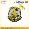 Distintivo giallo del metallo della vernice di colore dell'ape