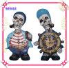 두개골 기념품, 수지 두개골 시계, 두개골 테이블 훈장 시계