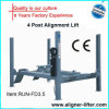 CE Certification 4 Post Car Lift Hydrulic для Sale