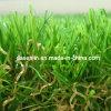 庭Indoor Home Landscapeのための自然なGreen 4 Tone Synthetic Turf