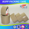 Cinta del embalaje de Brown BOPP de las ventas al por mayor