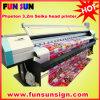 Phaeton Ud-3206p 3.2m Solvent Outdoor Digital Banner Machine Price Printer (cabeça de seiko 510/35pl, bom preço)