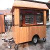Vendita mobile della via della cabina dell'alimento del chiosco del tè della bolla