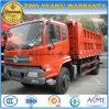 descargador 4X2 de 240HP Dongfeng 12cbm 12 toneladas de carro de volquete para la venta