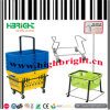 Supporto del cestino del nastro metallico per i cestini di acquisto del supermercato