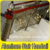 Luxury interno Aluminum Bronze Handrail per Staircases