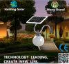 Lumière solaire de jardin du panneau DEL de monocristal avec la qualité