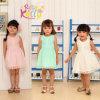 Vestidos Sleeveless do algodão do bebê da roupa do bebê das crianças do algodão da alta qualidade