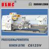 중국 제조 수동 선반 기계 Cq6125V 높은 정밀도