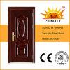 Diseño clásico de seguridad Apartamento puerta de entrada (SC-S069)