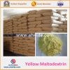 Maltodextrine jaune organique de prix usine